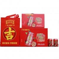 王老吉百香果维生素饮料310MLx24罐