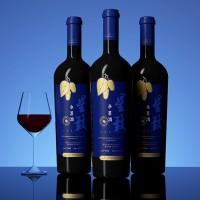 星致蓝瓶桑葚干型红酒